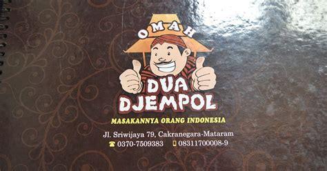 Ac Duduk Berapa omah dua djempol masakannya orang indonesia jalan jalan makan makan