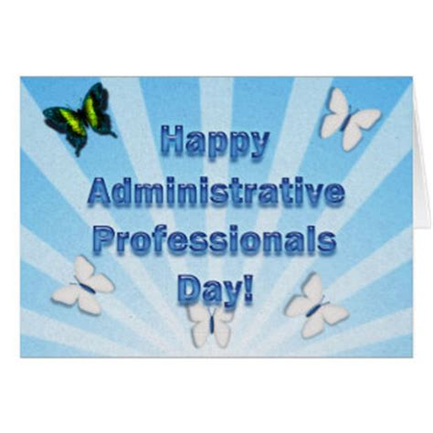 Administrative Day Card Template by Administrative Professionals Day Best Admin Greeting Card