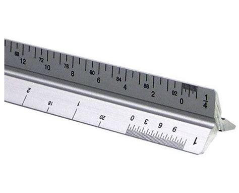 Alvin 270p Architects Scale Architects by Alvin 2200m Series Aluminum Architect Triangular Scale
