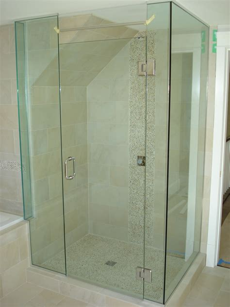 Custom Glass Shower Door by Custom Frameless Glass Shower Enclosure Www Panaust Au