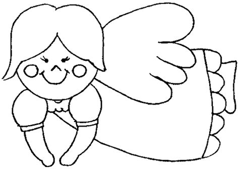 simple angel coloring page related keywords suggestions for simple angel