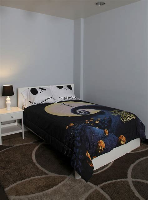 Nightmare Before Comforter by The Nightmare Before Poster Comforter