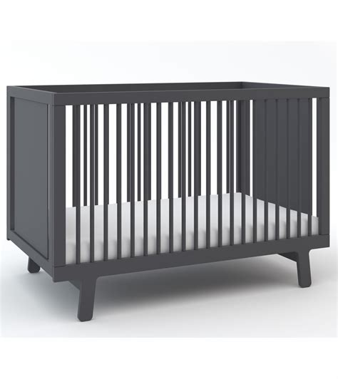 oeuf sparrow collection crib in slate