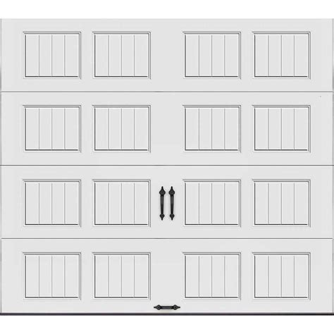 Clopay Gallery Collection 9 Ft X 8 Ft 6 5 R Value Clopay Garage Door Sizes