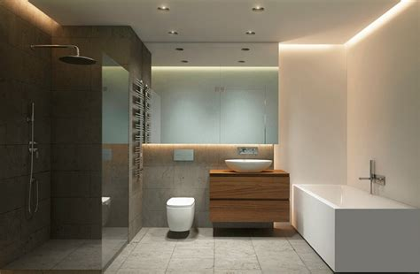 waschuntertisch holz raumgestaltung ideen in grau 5 moderne appartements