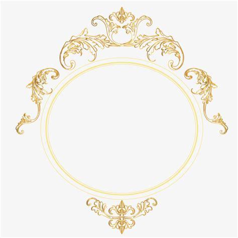 european style gold frame pattern vector vector gold round european frame frame vector european
