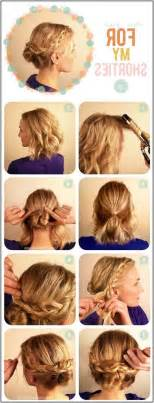 easy hairstyles for medium length hair easy hairdos for medium length hair