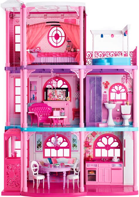 Barbies House by 174 Lists Malibu Dreamhouse 174 Variety