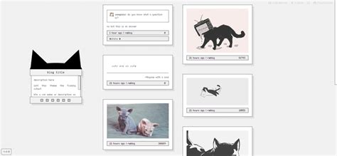 themes for tumblr simple cat cats kitten theme themes tumblr themes tumblr theme
