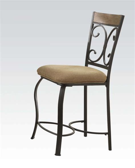 Counter Height Chairs Counter Height Chair Kiele By Acme Furniture Ac71157 Set