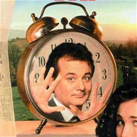 groundhog day how much time how does bill murray spend in groundhog day geektown