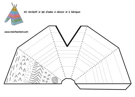 teepee template printable 1000 images about for my boys about american on