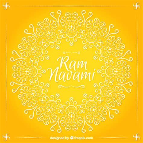 Gujarati Wedding Banner by Fondo Amarillo Ram Navami Con Formas Ornamentales