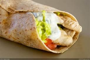 Main Dish Salad Recipes Vegetarian - chicken tortilla wraps recipe recipeland com