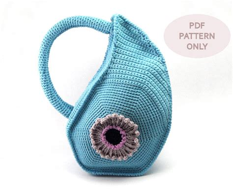 crochet bag with handles pattern pdf pattern crochet bag pattern with round handles