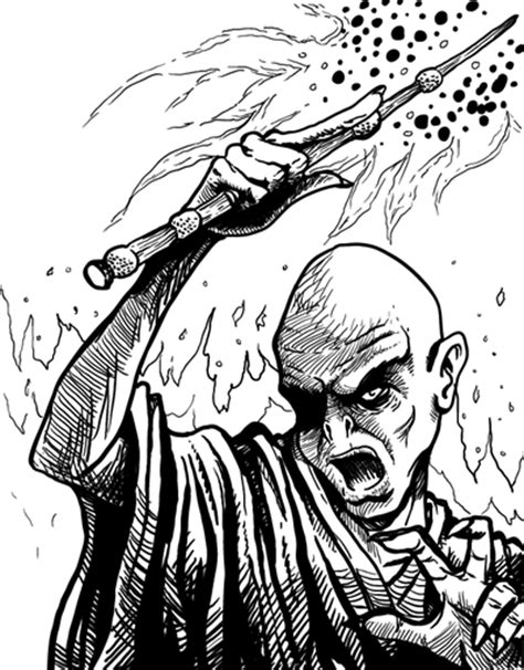 m voldemort coloring pages