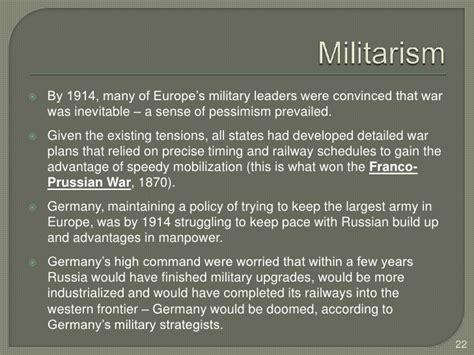 Was World War I Inevitable Essay by Why Was Ww1 Inevitable Statementwriter Web Fc2