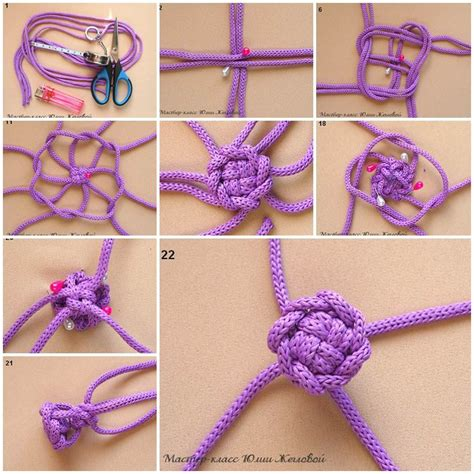How To Make A Macrame Knot - diy weave a macrame knot