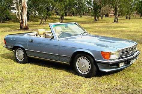 mercedes 560sl convertible auctions lot 7 shannons