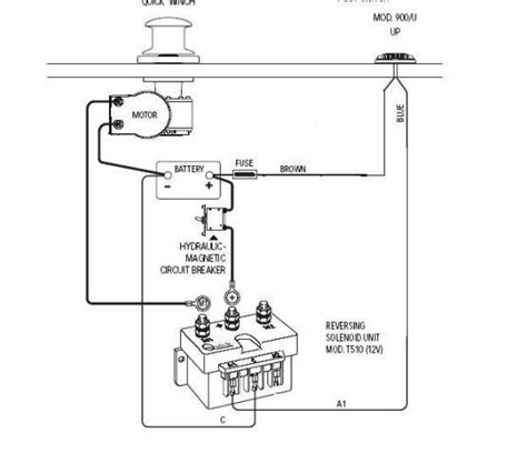 warn atv winch solenoid wiring diagram warn winch wiring