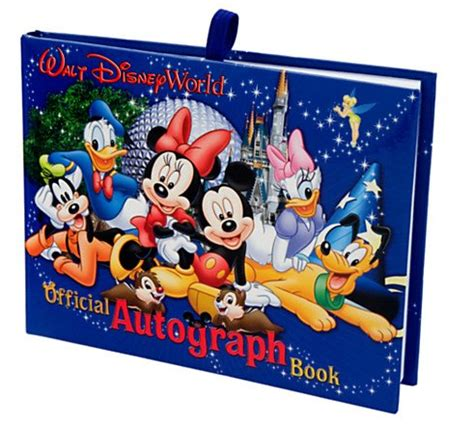 disney world picture book disney finds disney world autograph book
