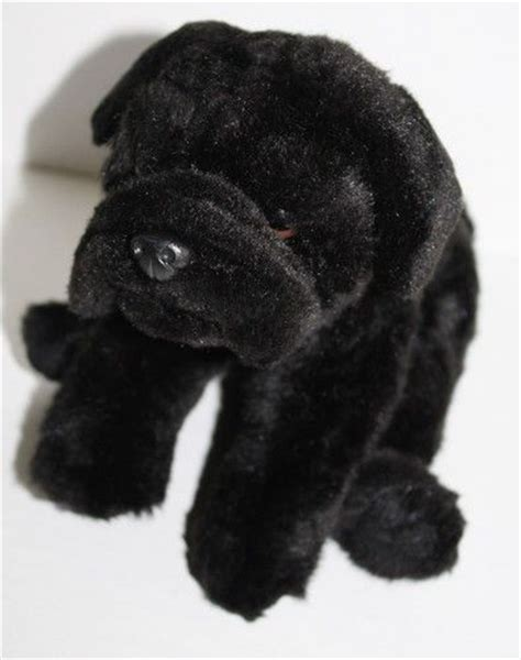 black pug soft animal alley black pug 10 quot soft plush stuffed animal toys r us brown sold