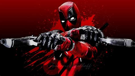 wallpaper deadpool merc   mouth marvel comics