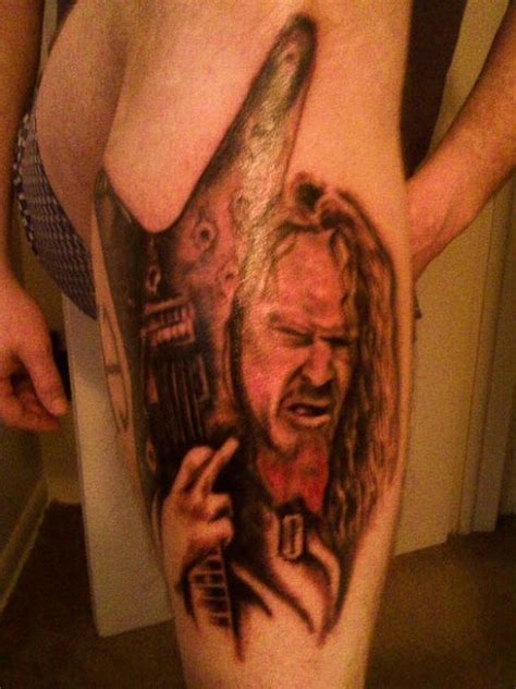 dimebag darrell tattoos dimebag darrell tribute tattoos page 3