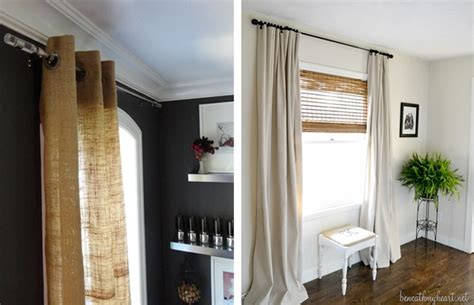 Cheap Window Treatments How To Diy Cheap Looking Window Treatments