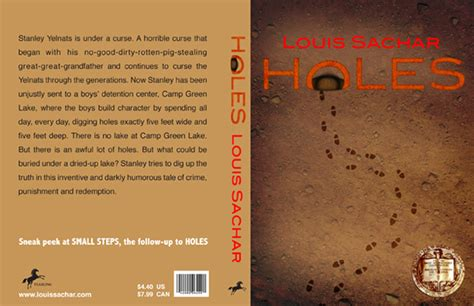 themes in the story holes holes book cover redesign on behance