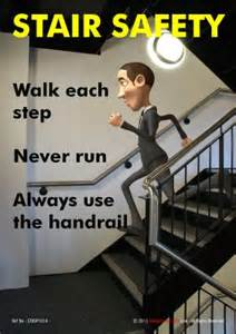 Stair Safety Poster by Latest Posters Stair Safety Walk Each Step