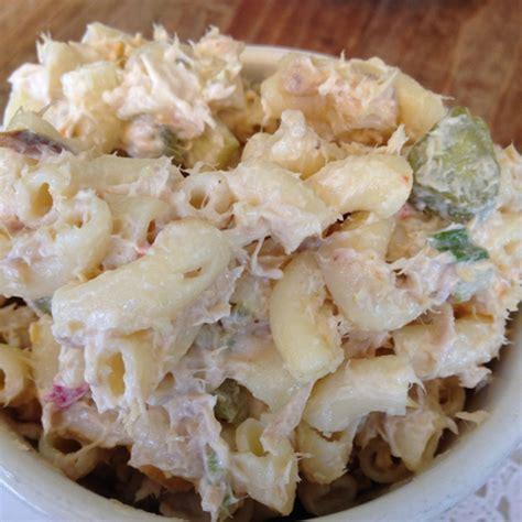 recipe for cold tuna macaroni salad tuna macaroni salad recipes dishmaps
