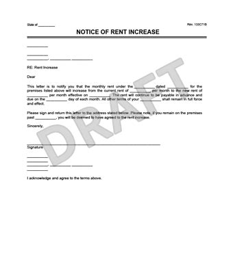 letter template for notice to landlord best of rental letter