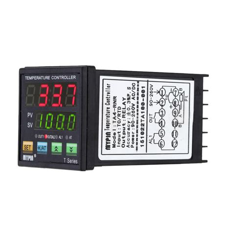 Led Rtd digital led pid temperature controller pt100 rtd