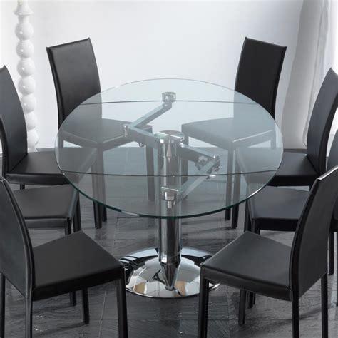 tavolo vetro temperato allungabile tavolo da pranzo allungabile in vetro temperato
