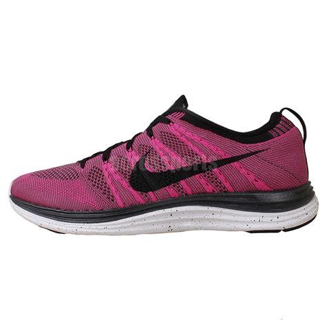 nike lunarlon mens running shoes nike flyknit one mens lunarlon lunar 1 trainers pink black