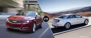 Ford Taurus Vs Chevy Impala 2016 Chevy Impala Vs 2016 Ford Taurus