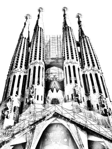 imagenes en blanco y negro de la sagrada familia illustration gratuite sagrada fam 237 lia barcelone image