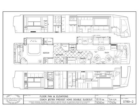 prevost rv floor plans unique sold 1997 prevost country 100 prevost floor plans colors 45 u0027 prevost tag