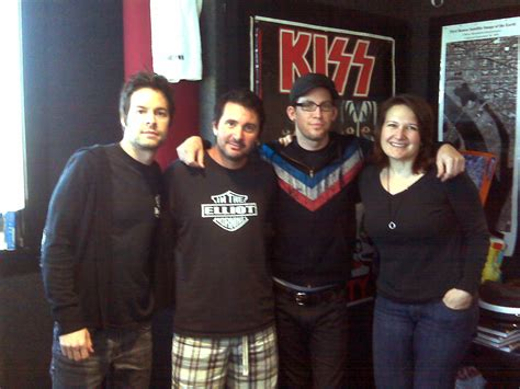 in the morning cast chevelle visits wwdc alternative artist band and radio