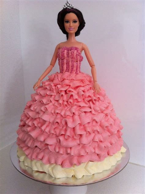HowToCookThat : Cakes, Dessert & Chocolate   How to Make a Princess Cake using Buttercream