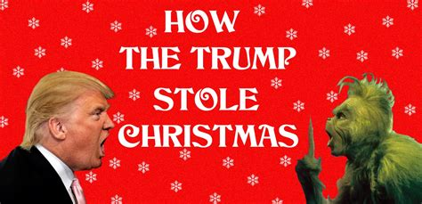 donald trump grinch you re a mean one mr trump grinch holiday parody youtube