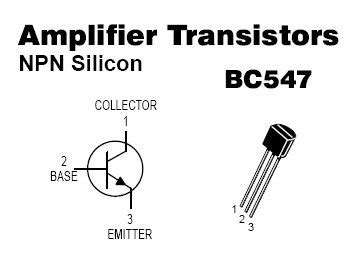 datasheet transistor bc547b 100pcs bc547 npn transistors bc547b bc 547 b