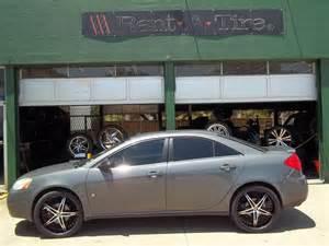 Rims For Pontiac G6 Pontiac G6 Rent A Wheel Rent A Tire