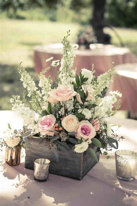 Flower Wedding Table Centerpieces by Books Jar Vases Simple Vintage Wedding Centerpieces