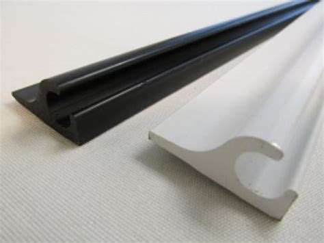 Plastic Awning by Plastic Awning Rail Black