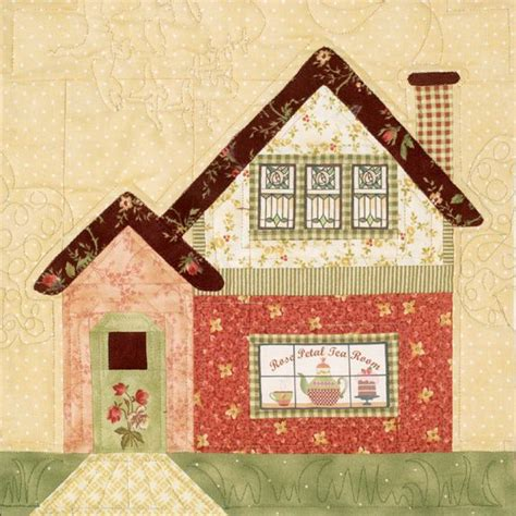 quilt pattern houses pin by debbie glatfelter on applique quilts pinterest