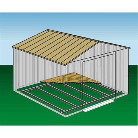 garden shed floor frame kit add functionality to your