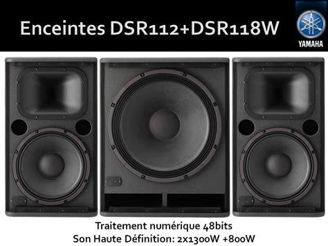 Speaker Aktif Yamaha Dsr112 yamaha dsr112 image 731288 audiofanzine