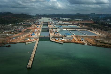 pictures of new photos expanded panama canal